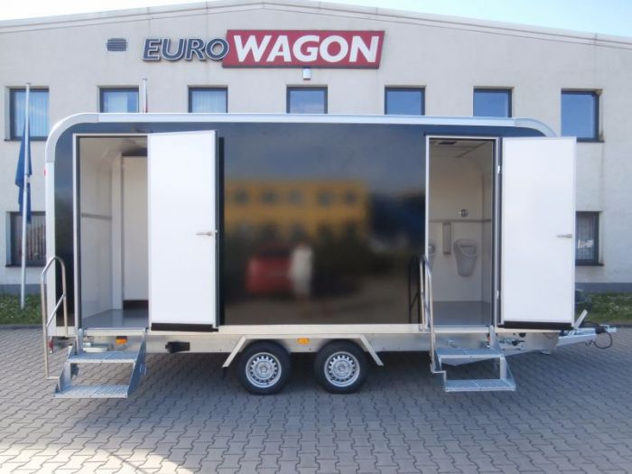 Mobile trailer 22 - toilets