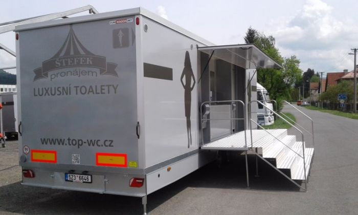 Mobile trailer 23 - toilets
