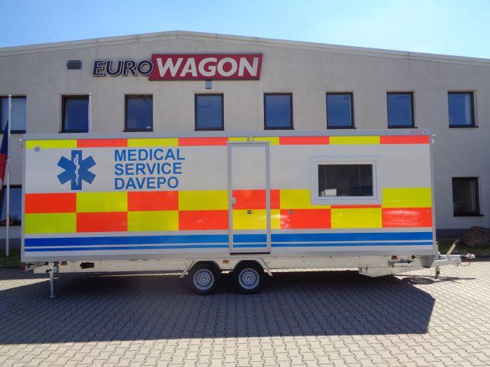 Mobile trailer 81 - medical service