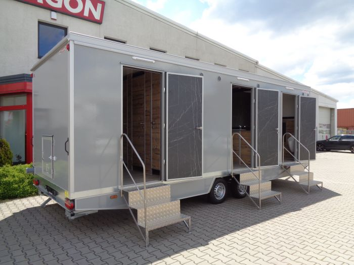 Mobile trailer 78 - toilets