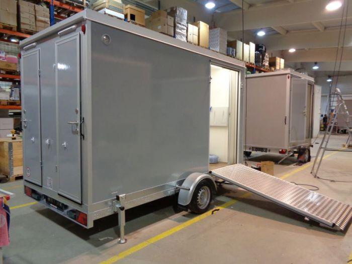 Mobile trailer 75 - toilets