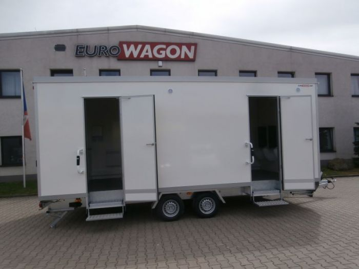 Mobile trailer 57 - toilets