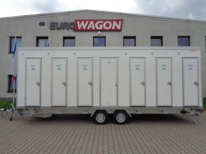 Mobile trailer 80 - bathrooms