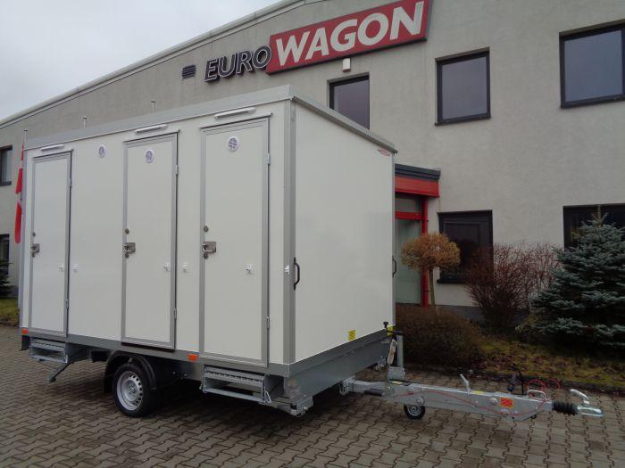 Mobile trailer 84 - bathroom + toilets