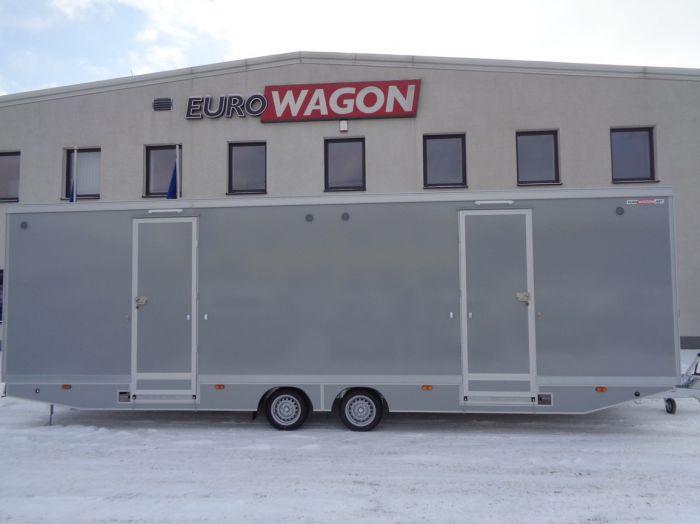 Mobile trailer 86 - toilets